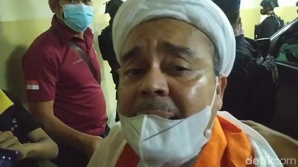 Dipindah ke Rutan Bareskrim, Habib Rizieq: Stop Kegaduhan Bangun Kedamaian