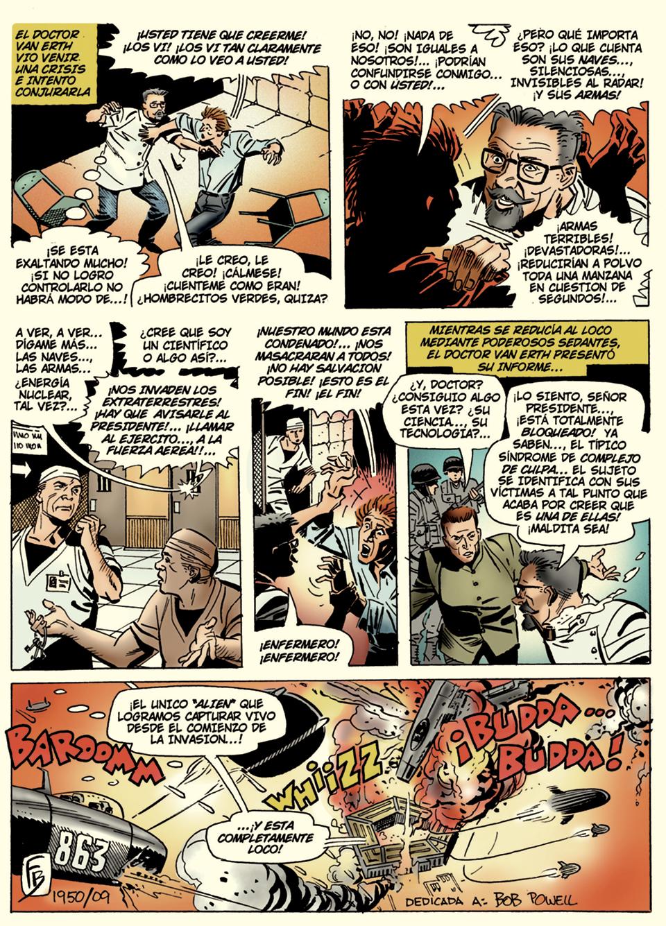 Pagina 2 art by Eduardo Barreto