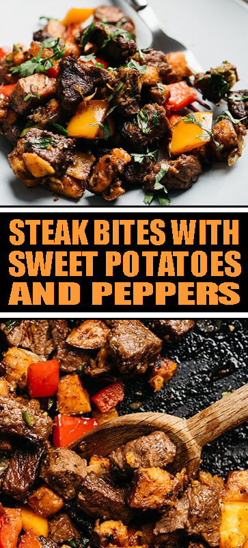 #STEAK #POTATOES AND #PEPPERS