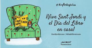 Actividades para celebrar Sant Jordi