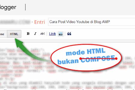 Cara Modifikasi Artikel Blog dengan HTML Sederhana