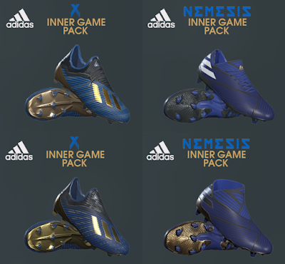 PES 2019 / PES 2018 Adidas Inner Game Pack 2019 by Tisera09