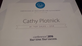 Cathy Plotnick, #1 Top Sales for Steeped Tea US