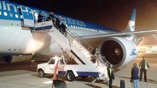 Se produjo durante la madrugada en un vuelo que viajaba a Nueva York. Según informaron, no hubo heridos durante el incidente.