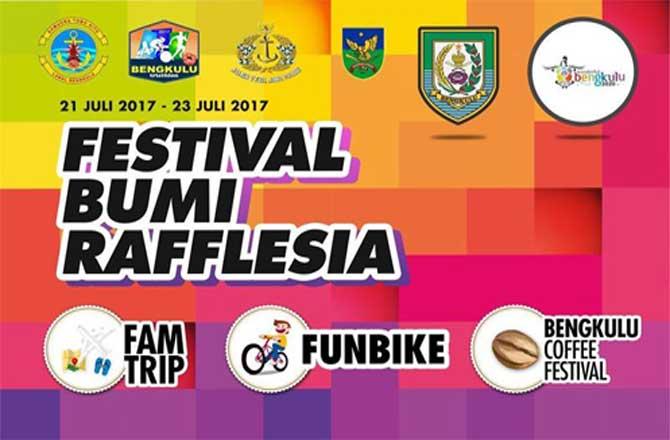 Kegiatan Festival Bumi Rafflesia 2017 Bengkulu