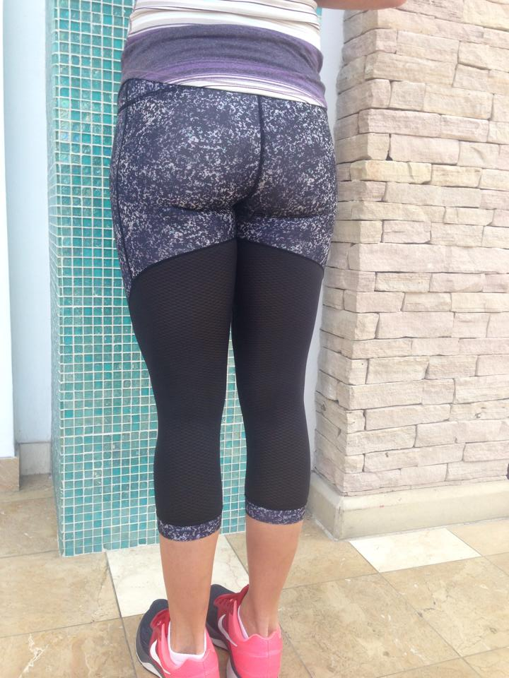 backside of lululemon journey crop