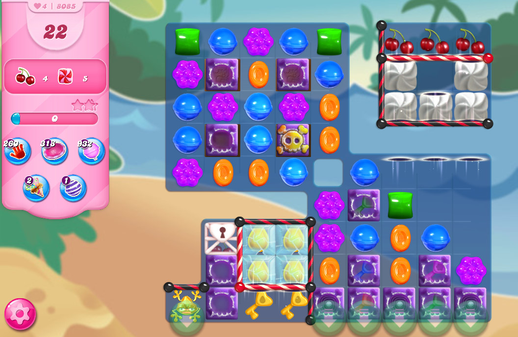 Candy Crush Saga level 8085