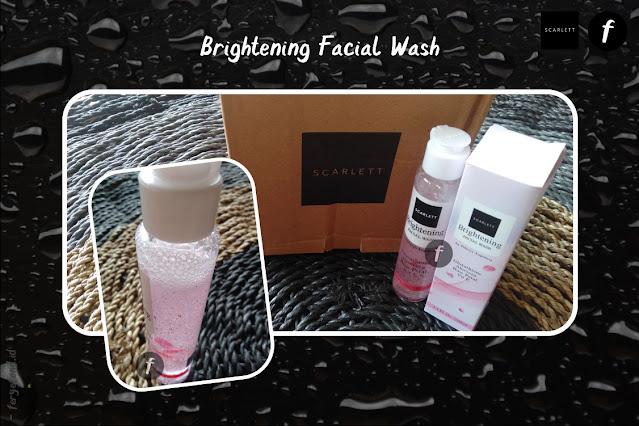 Brightening Facial Wash Scarlett