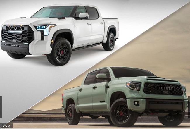 Desain baru  Toyota Tundra 2022