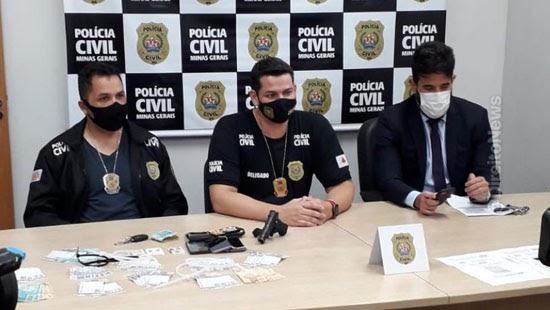 falsos policiais presos supostos mandados extorsoes