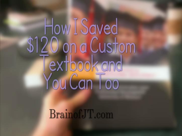 Saving Hundreds of Dollars on Textbooks is my Favorite Passtime