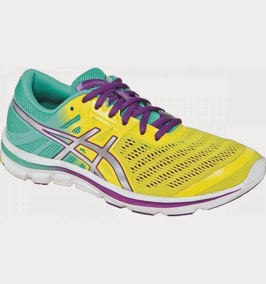 Asics Gel Electro Running Shoes Mens