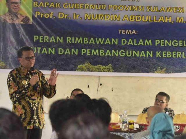 Nurdin Abdullah Harapkan Mahasiswa Universitas Andi Djemma Lestarikan Alam
