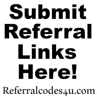 Referral Links, Referral Codes, Promotions, Invitation Codes. Post your codes here!