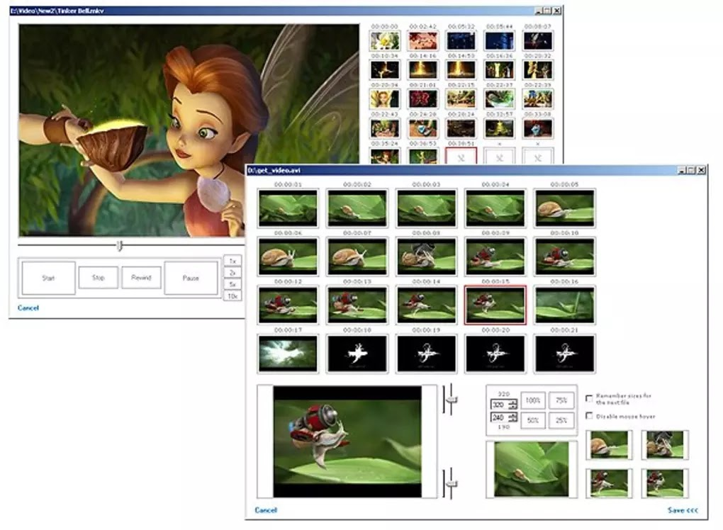 تحميل برنامج Video Thumbnails Maker Platinum 14.2.0.0 لإنشاء صور مصغرة