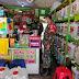 Sertu Priyanto Patroli dengan Linmas Sambil Terapkan Protokol Kesehatan di Masyarakat