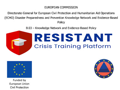 The first European Crisis Training Platform - With the Participation of S.A.R-312