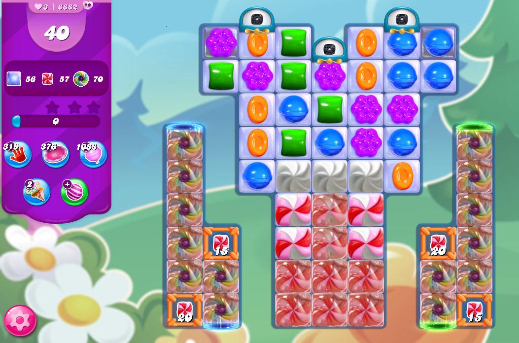 Candy Crush Saga level 8882