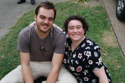 Katie Schiller and Kieran Altmann