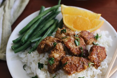 STICKY ORANGE CHICKEN RECIPES