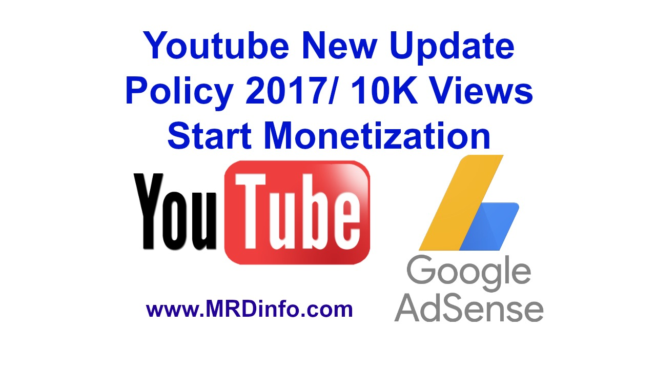 youtube new monetization policy 2017