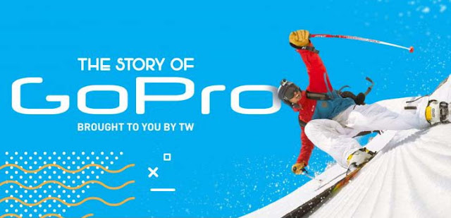 The Story Of Gopro #infographic