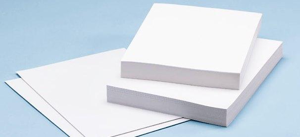 Gambar jenis-jenis kertas dan ukurannya