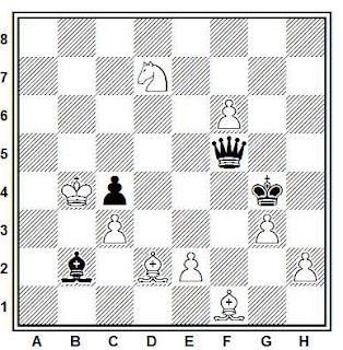 Problema ejercicio de ajedrez número 698: Estudio de V.A. Korolkov (1931)