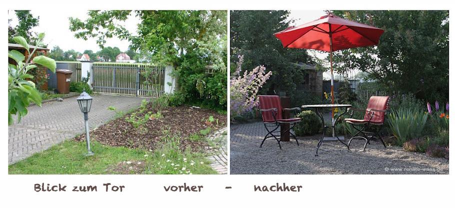 Gartenblog Geniesser-Garten : Geniesser - Garten vorher - nachher