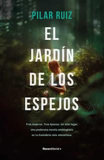 El jardín de los espejos (Pilar Ruiz) - Portada