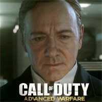 Kevin Spacey en el tráiler de Call of Duty: Advance War