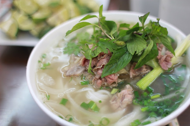 Traditional Vietnamese dishes should be tried