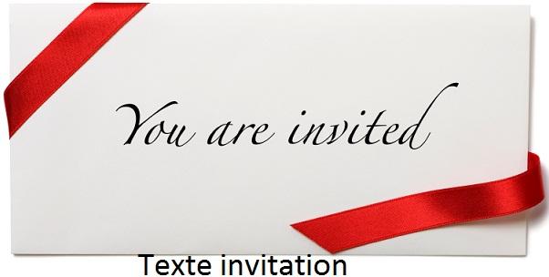 Sms Message Et Texte D Invitation Texte Invitation Ouverture