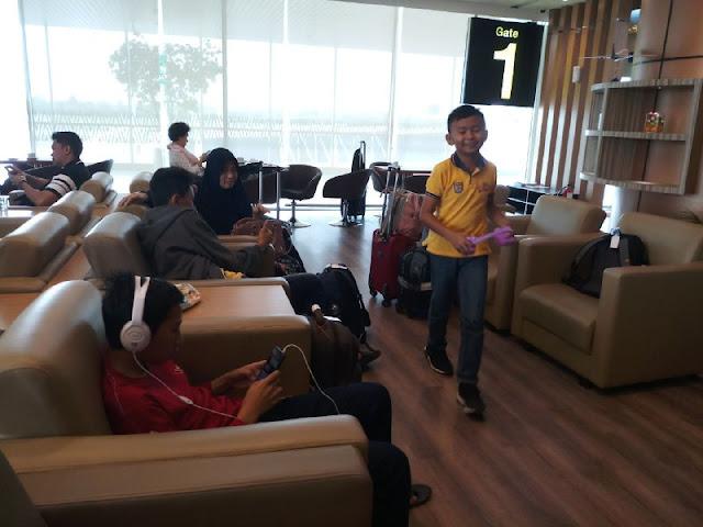 Menikmati Fasilitas Jeumpa Dari Garuda Executive Lounge Bandara Supadio Pontianak