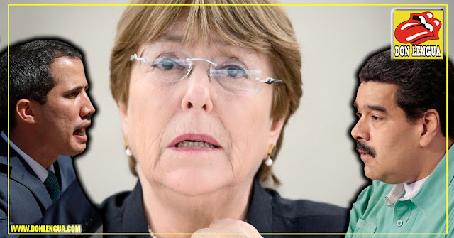 Michelle Bachelet se reunirá con Maduro y Guaidó el 19 de junio