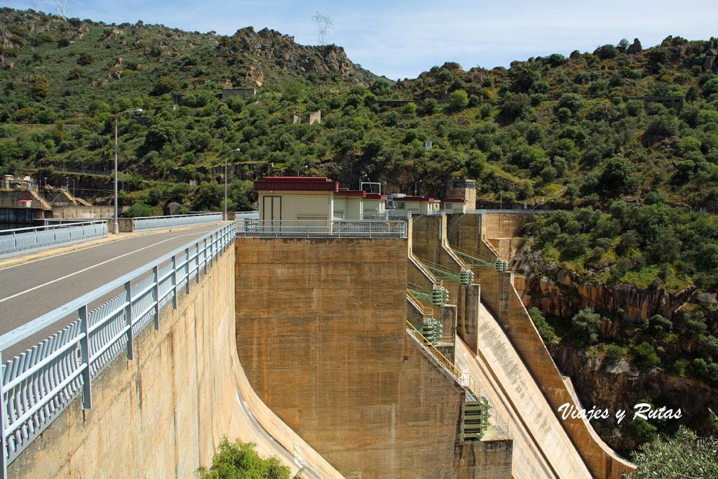 Salto de Saucelle, río Duero