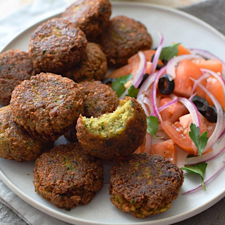 Receta para preparar falafel de garbanzos