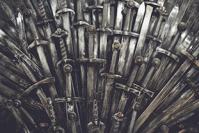 Trono de hierro Juego de Tronos, que se grabó el Islandia