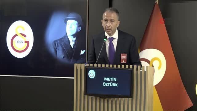 Seçim 2021 | Metin Öztürk: Galatasaray'ı fabrika ayarlarına döndüreceğiz!