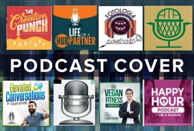 I will design podcast cover artwork and podcast logo