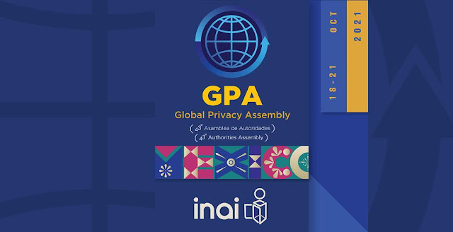 INAI, autoridad anfitriona de la 43° Asamblea Global de Privacidad 2021