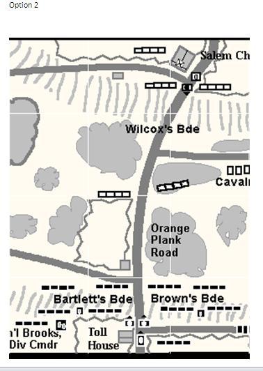 Bede's Wargaming Blog: Battle of Salem Church AAR