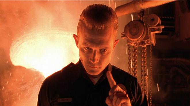Robert Patrick en Terminator 2 como el T-1000