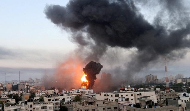 Konflik Gaza Meningkat, Serangan Roket dan Gempuran dari Udara Mengganas