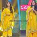 Anushka Shetty in Yellow Georgette Salwar