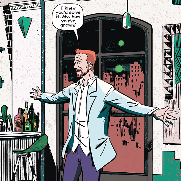 Whistle: A New Gotham City Hero - Riddler