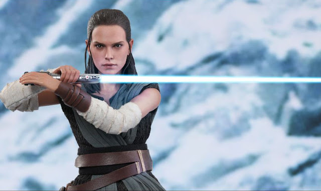 "osw.zone Hot Toys MMS446 Star Wars: The Last Jedi 1/6 Rey (Jedi Training) 12 ""Collector figure"