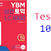 Listening YBM Practice TOEIC LC 1000 - Test 10