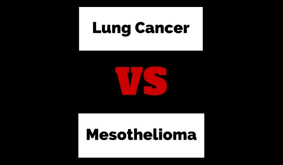 Mesothelioma vs Lung Cancer