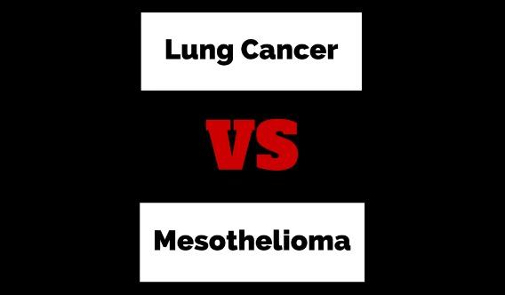 Mesothelioma vs Lung Cancer